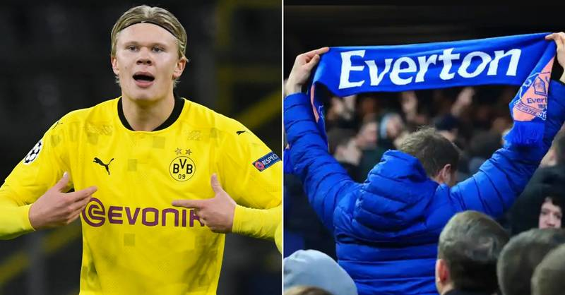 Everton Decided To Reject Teenage Erling Haaland After Four-Day Trial
