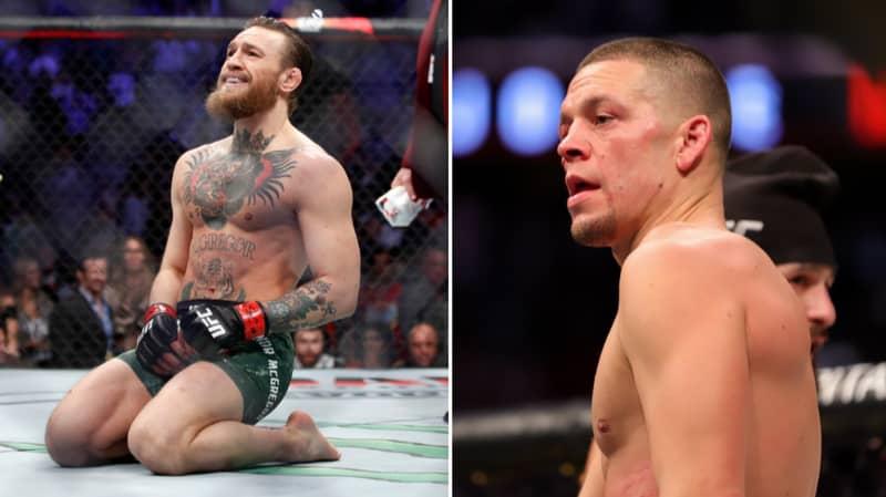 Nate Diaz Reacts To Conor McGregor's Devastating UFC Comeback Win