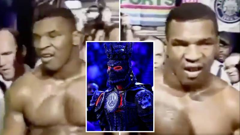 Mike Tyson's Ring Walk Is The Most Intimidating Of All Time, It Makes Deontay Wilder's Look Tame
