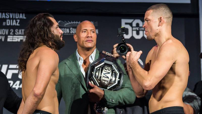 UFC 244 Results: Jorge Masvidal Beats Nate Diaz In Epic War To Win BMF Title