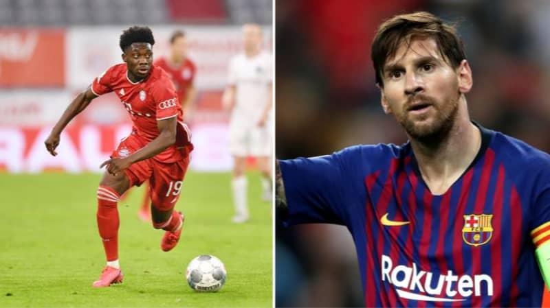 Bayern Munich Chief Warns Lionel Messi About Alphonso Davies