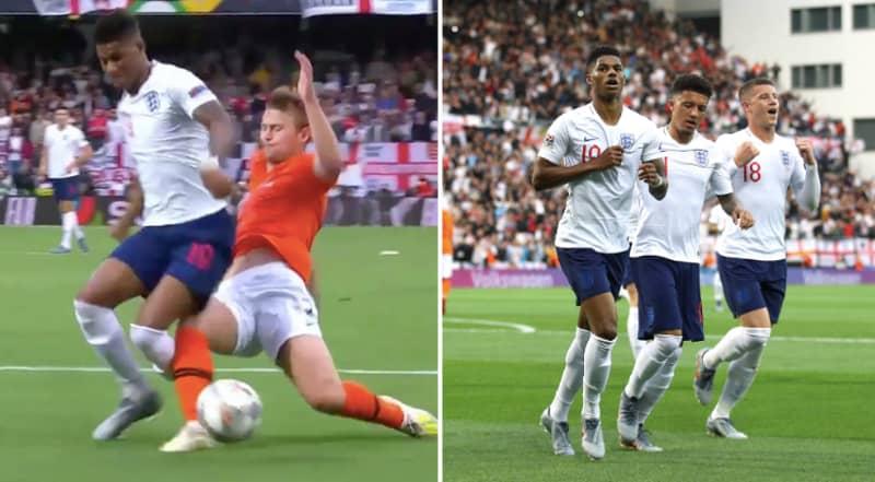 Matthijs De Ligt Makes Major Error To Gift England The Opening Goal