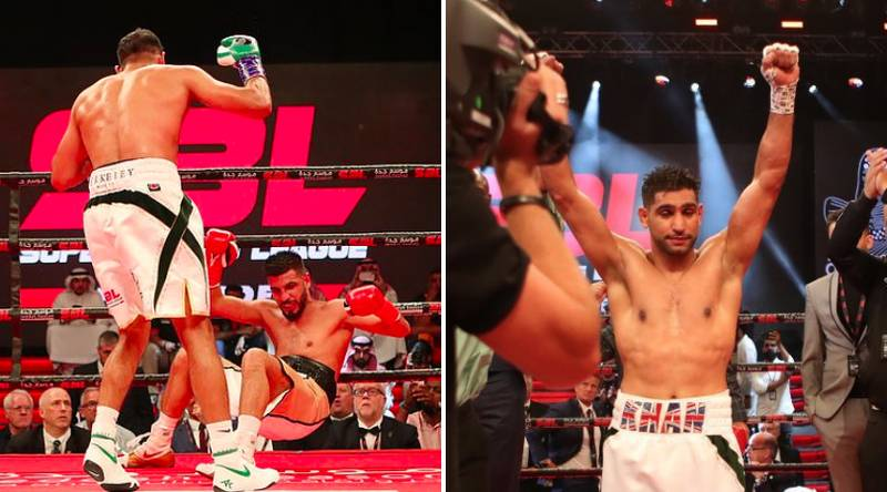 Amir Khan Earned An Incredible £11,844 Per Second For His Fight Against Billy Dib