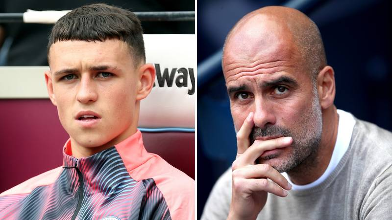 Phil Foden Voices His Frustration For Lack Of Playing Time At Manchester City