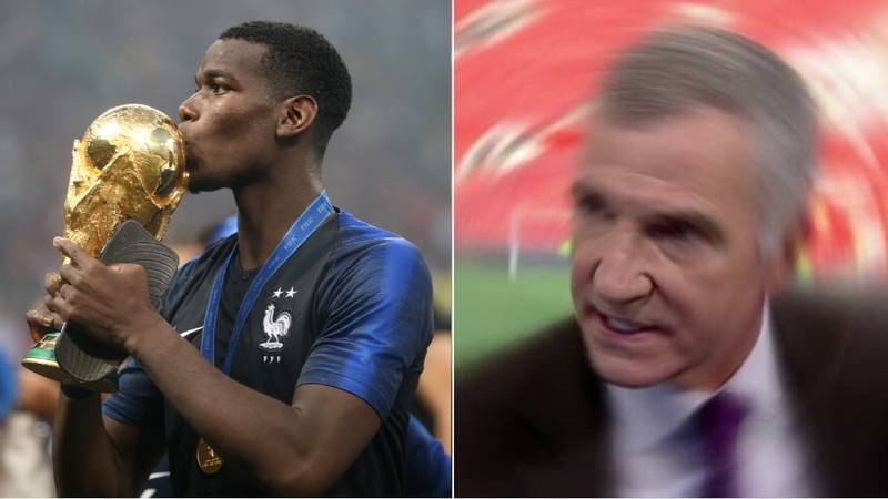 "Graeme Souness Urged France To Bench Paul Pogba At The World Cup Because ""You Can't Trust Him"""