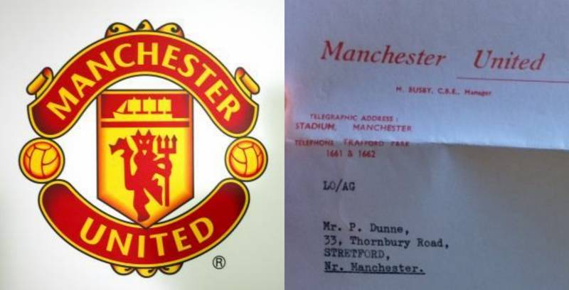 Manchester United Player Contract From 1965 Emerges Online