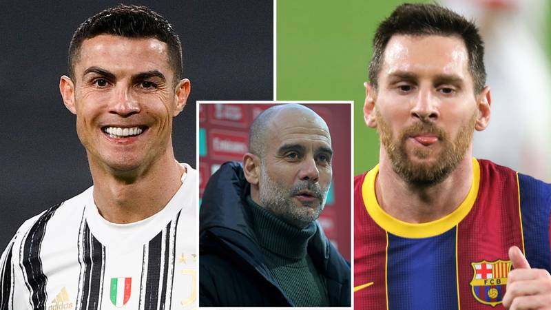 Pep Guardiola Would NOT Replace Any Man City Player With Lionel Messi Or Cristiano Ronaldo