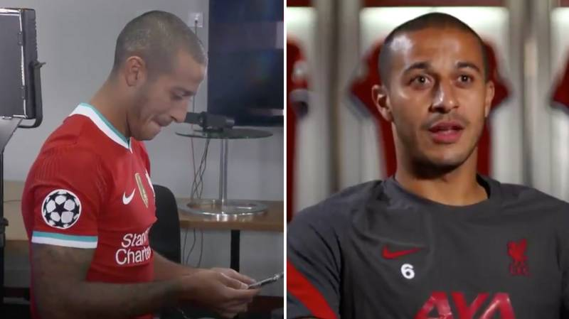 "Thiago Opens Up On The Two Former Liverpool Players Who ""Helped"" Him Decide To Join Liverpool"