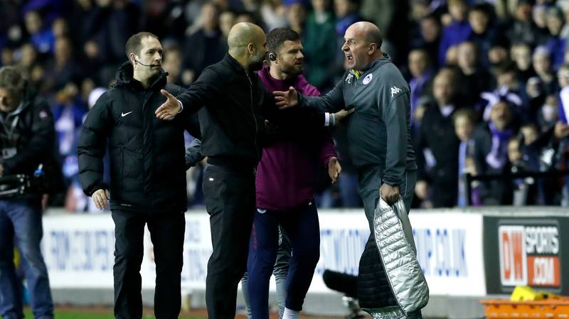Man City Players Were Left 'Stunned' At What Guardiola Did At Half-Time Against Wigan