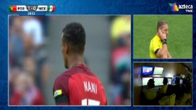 WATCH: Video Assistant Referee Rules Out Portugal 'Goal'