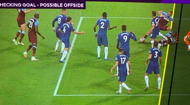 West Ham Denied Opener Vs Chelsea After Controversial VAR Call