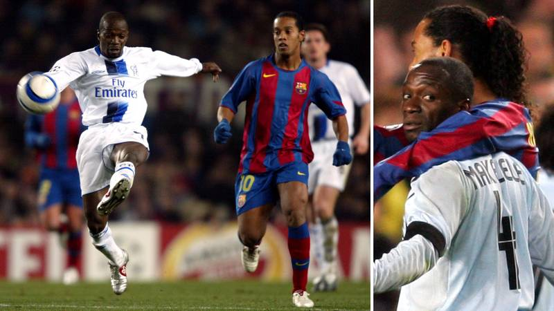 The Story Of Claude Makelele Threatening To Send Ronaldinho 'To The Hospital' Is Priceless