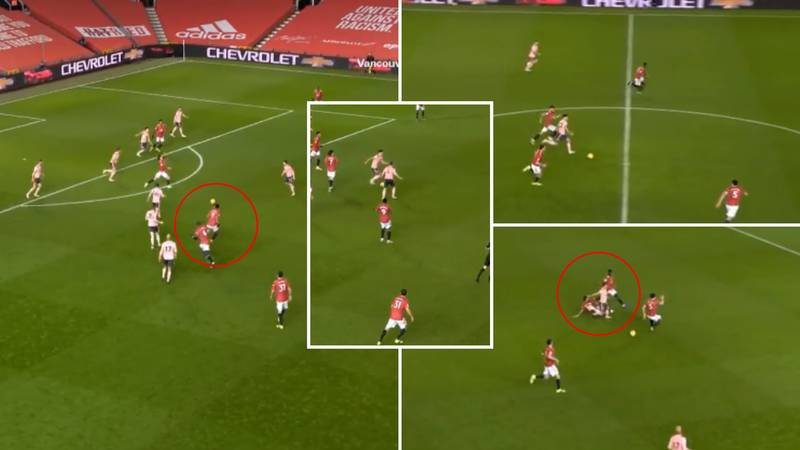 Man Utd Fans Spot The Difference Between Anthony Martial And Bruno Fernandes' 'Work Ethic'