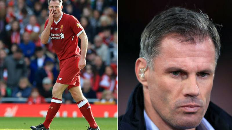 Jamie Carragher Tweet Riles Up Manchester United Supporters