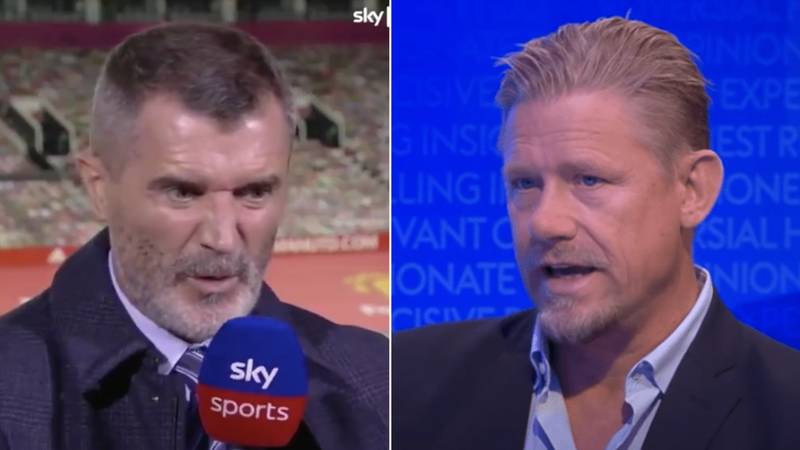 Peter Schmeichel Names Manchester United's Five Leaders After Roy Keane Comments