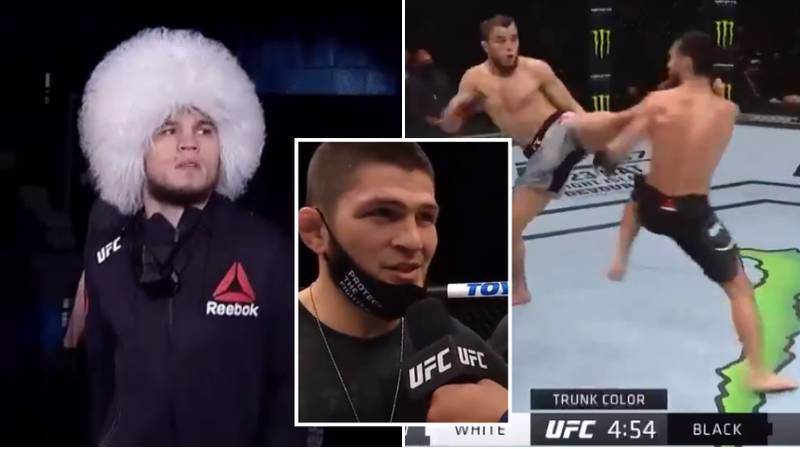 Khabib's Cousin, Umar, Puts On Near-Perfect Performance On UFC Debut