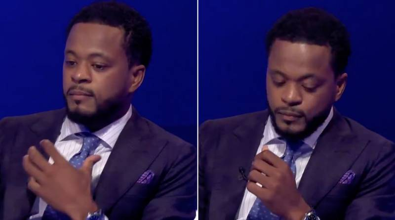 Patrice Evra In Tears As He Offers To End His Contract At Sky Sports Live On Air