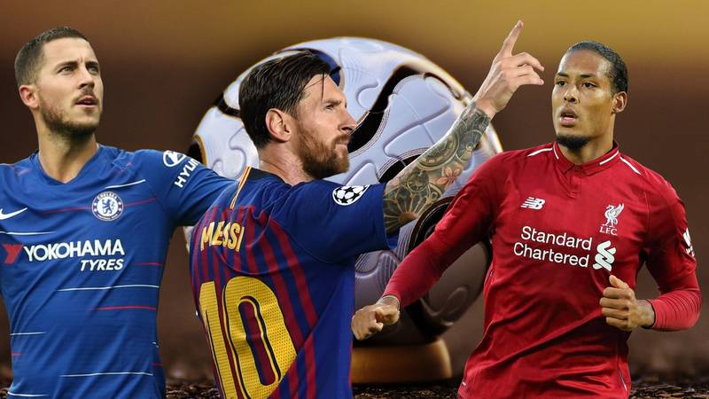 UEFA Has Revealed How Fans Voted For The 2018 Team Of The Year