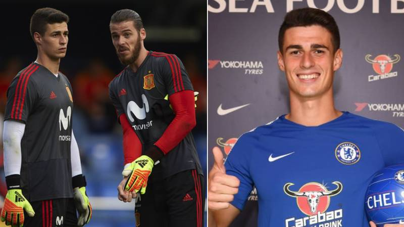 What David De Gea Said About Kepa In 2017 Is Very Interesting