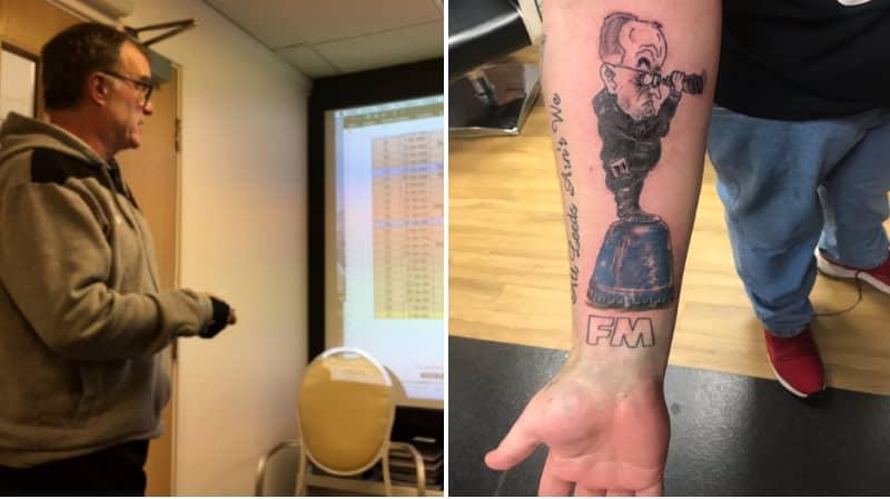 Leeds Fan Shows Off Unbelievable Marcelo Bielsa Tattoo