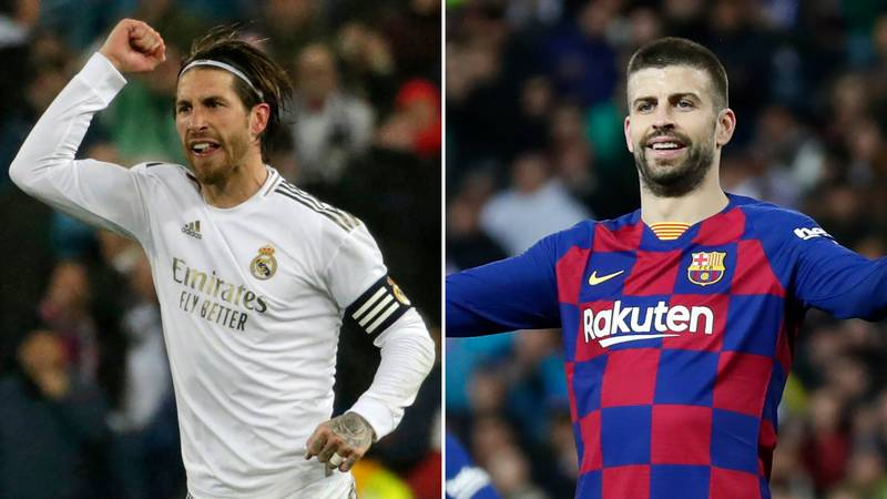 Sergio Ramos Responds To Gerard Pique's 'Worst Real Madrid' Jab