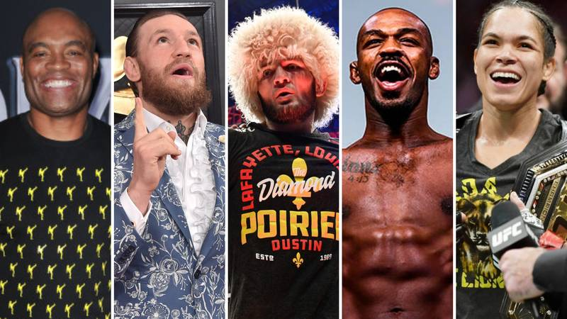 The 50 Greatest MMA Fighters Of All Time Ranked After Khabib Nurmagomedov's Retirement