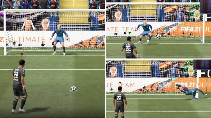 New FIFA 21 Glitch Shows Exactly How To Score Every Penalty You Take