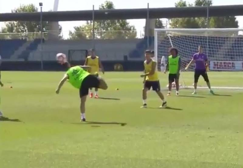 WATCH: Isco And Sergio Ramos Score Utterly Insane Goals in Training