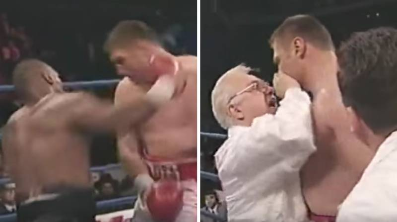 When Mike Tyson Made Opponent Andrew Golota Quit In-Between Rounds