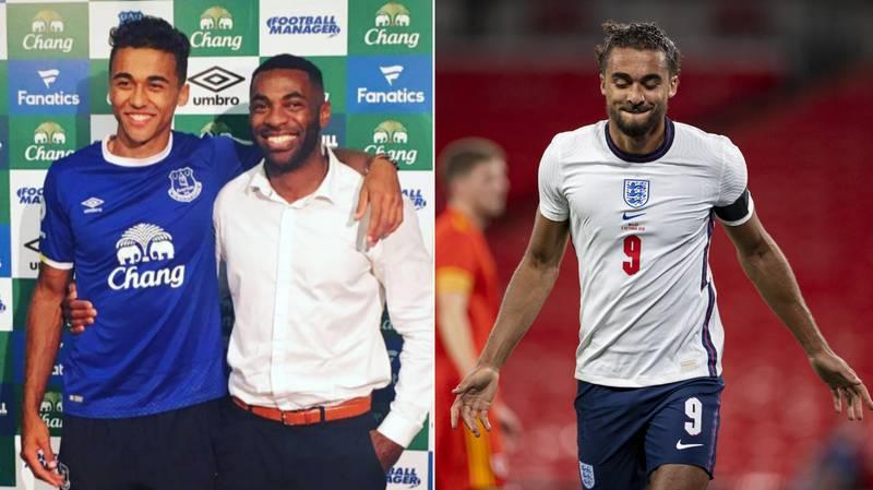 Dominic Calvert-Lewin's Father Posts Emotional Message After Seeing Son Score On England Debut