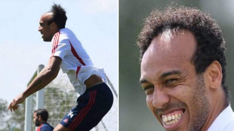 Pierre-Emerick Aubameyang Responds To People Mocking His Lockdown Trim