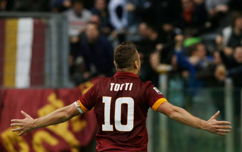WATCH: Roma Post 23 Totti Goals From 23 Seasons