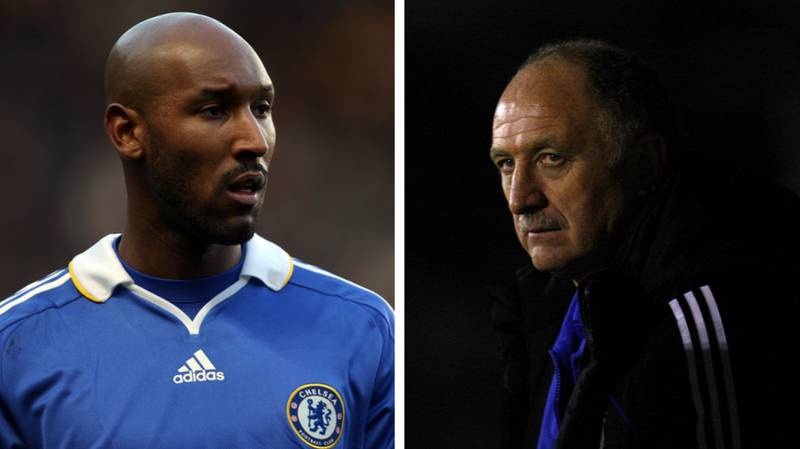 Phil Scolari Believes Argument With Nicolas Anelka Led To His Sacking