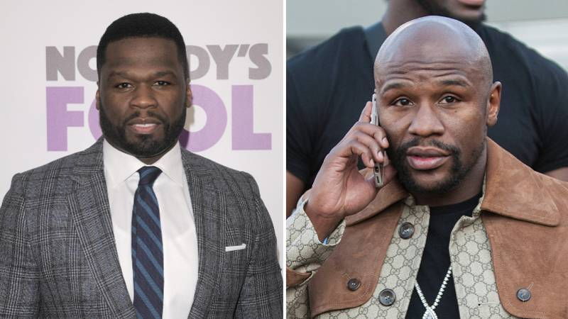 50 Cent Calls Out Floyd Mayweather To A Celebrity Boxing Fight