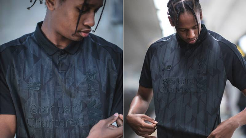 Liverpool Release Special Edition 'Black-Out' Edition Of Home Shirt