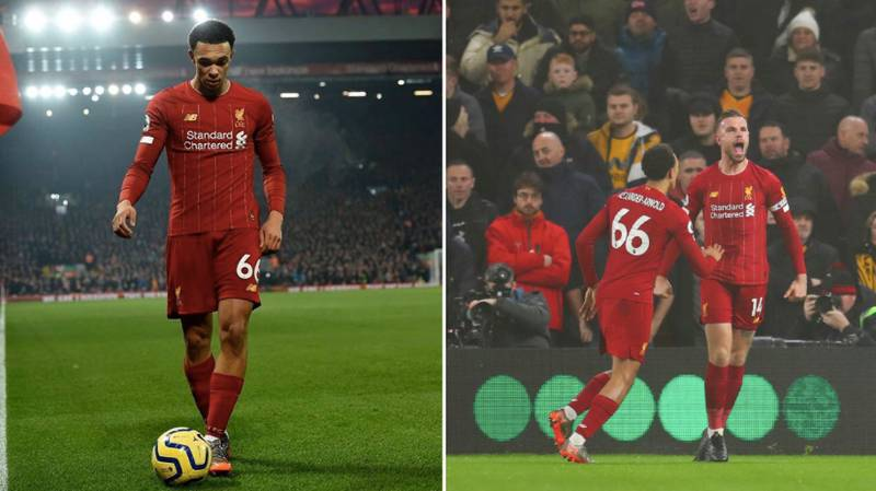 Trent Alexander-Arnold Creates Premier League History During Wolves Vs. Liverpool