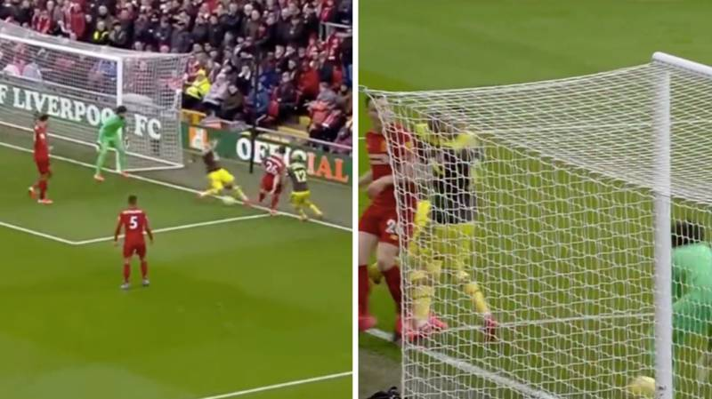Liverpool Goalkeeper Alisson Picks Up Obvious Back-Pass From Andy Robertson, Nothing Is Given