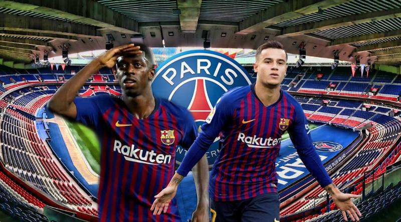 Barcelona Are Ready To Offer PSG 'Coutinho, Dembele And £36m' In Sensational Swoop For Neymar