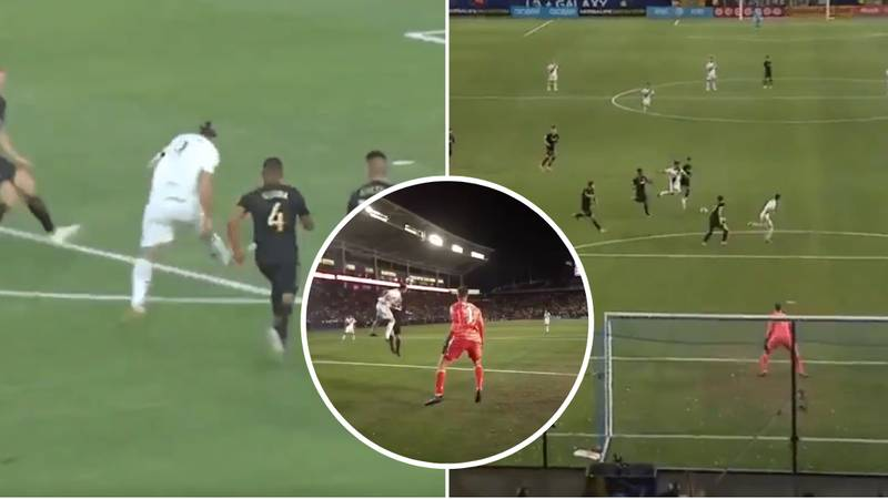 Zlatan Ibrahimovic Scores Stunning Perfect Hat-Trick In LA Derby