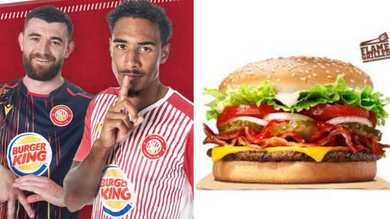 Fans Think Stevenage FC Kits Make Their Players Look Like Massive Whoppers