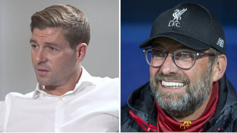 Steven Gerrard Makes Request To Liverpool Ahead Of The Club Finally Winning The League