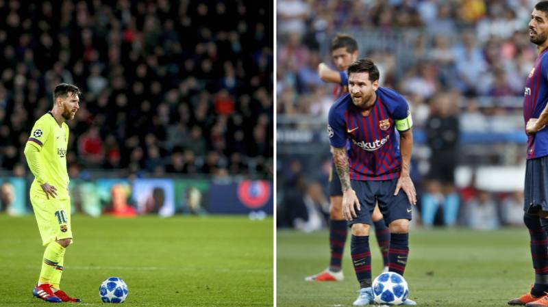 Lionel Messi Is Only Europe's 15th Best Free Kick Taker