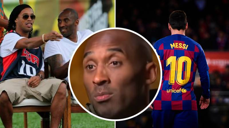 The Time Lionel Messi Was Introduced To Kobe Bryant By Ronaldinho