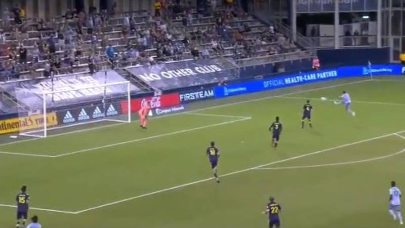Erik Hurtado Scores Incredible Winning Goal For Sporting KC