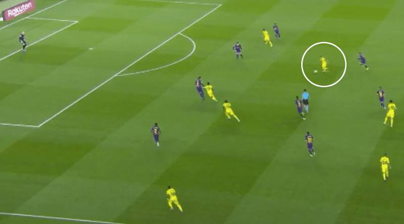 Santi Cazorla Scores Incredible 35-Yard Wonder Goal Against Barcelona Using His Weak Foot