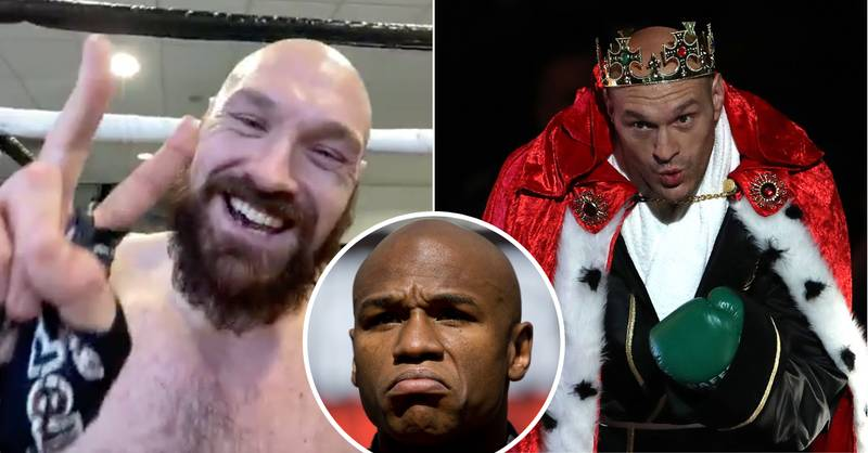 Tyson Fury Explains Why He's Above Floyd Mayweather As Greatest Of His Era