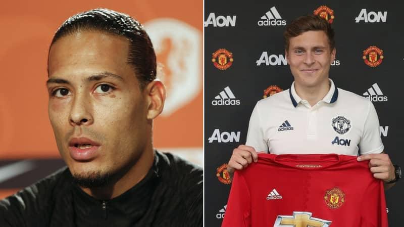 Former Teammate Claims Manchester United Picked Victor Lindelof Over Virgil Van Dijk