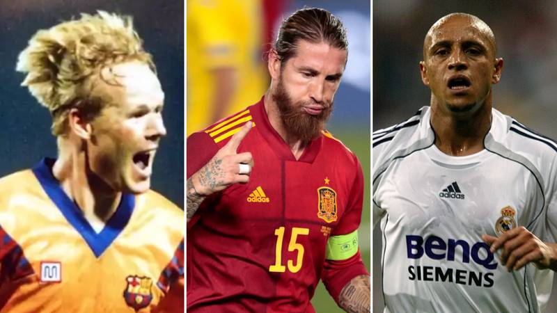 The Ten Highest Scoring Defenders In Football History After Sergio Ramos' Record-Breaking Game