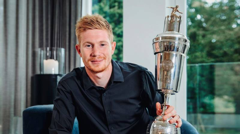 Kevin De Bruyne Wins 2019/20 PFA Player Of The Year