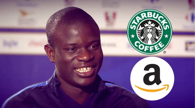 ‪N'Golo Kante Pays More Tax Than Amazon And Starbucks Combined After Refusing Offshore Account‬